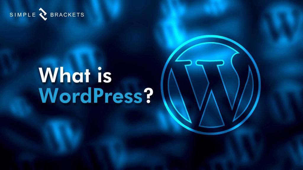Wordpress graphic - Simple Brackets